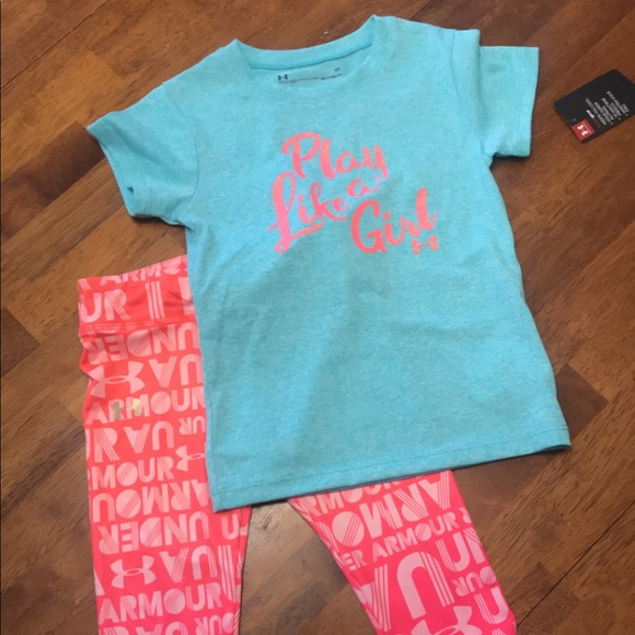 62c00427bb Toddler Underarmour spring outfit